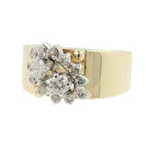 Gorgeous Vintage Classic Estate Ladies 14K Yellow Gold Diamond Ring - 0.55CTW
