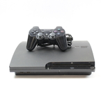 Sony Playstation 3 PS3 Slim 160GB Charcoal Black Console CECH 3001A