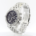 Breitling Stainless  A13355 Automatic Black Matte Finish Dial Chronograph Mens
