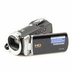 "Samsung HMX-F90 HD Camcorder - 2.7"" LCD - 720p - 52x Optical Zoom - HDMI - Black"