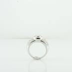 Ladies Stunning 18K White Gold 1.92CTW Round Diamond Wedding Engagement Ring