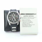 Rare Limited Edition Citizen World Chronograph A•T Men's Watch - H800-S082170