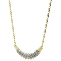 Ladies Classic Estate 14K Yellow Gold Diamond Pendant & Chain Necklace - 18 inch