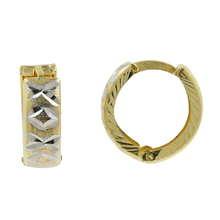 Stunning Vintage Classic Estate Ladies 14K Yellow Gold Huggie Hoop Earrings