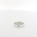 Mens Handsome 14K White Gold .84CTW Round Diamond Engagement Wedding Band Ring