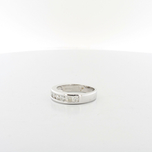 Mens Handsome 14K White Gold .84CTW Round Diamond Engagement Wedding Band Ring