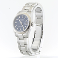 Rolex 31mm Datejust Oyster Band Model 178274 Blue Dial & 18K Fluted Bezel Watch