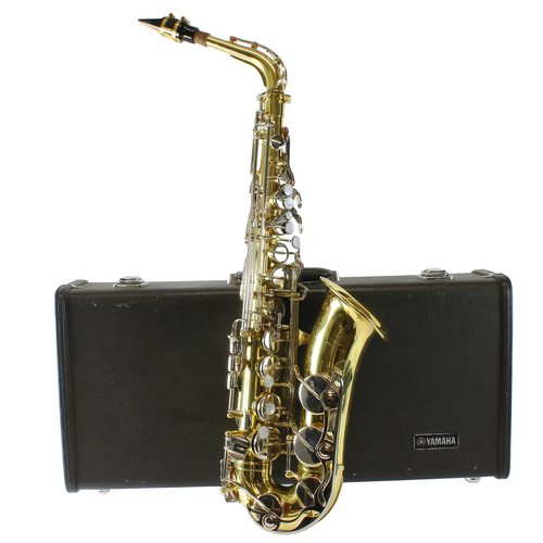 Alto Saxophone Yamaha Yas-23 Made In Japan Instrument With