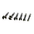 "Amana Tool Corp 6 Piece Forstner Bit Pattern Set High Carbon Steel 3/8""- 1"" Shank"