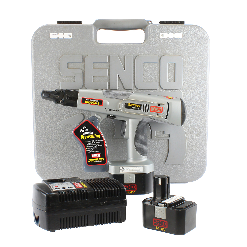 Senco DuraSpin 14 Volt Cordless Dry Wall Screw Gun Driver DS162-14V