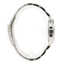 Bulova Men's Marine Star Screw Black Dial Alarm Stainless Steel Watch 96B87