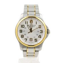 Victorinox Swiss Army Men's 241362 Officers Two Tone Stainless Steel Gent Watch