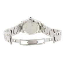 Ladies Bulova Stainless Steel Mother of Pearl Dial Diamond Bezel Watch - 96R45