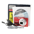 Panasonic Lumix 16.1mp Megapixel Digital Camera Red 10x Optical Zoom  DMC SZ1