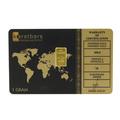 1 Gram 999.9 Fine Gold Bullion Bar Karatbars Certification Card