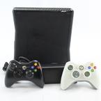 Microsoft Xbox 360 S 1439 4GB Video Game Console Matte Black 2 Wireless Controller