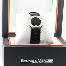 Ladies Baume & Mercier Vice Versa Diamond Bracelet In Box Watch Leather Strap