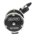 Vintage Newell 322-5 Graphite Ball Bearing Narrow Spool Conventional Fishing Reel