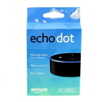 Amazon Echo Dot RS03QR Black Hands Free Voice Controlled Speaker Bluetooth