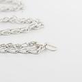 Luxury Designer Mellerio Chain 18K White Gold 24 Inch Necklace