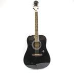 Epiphone Black Acoustic Guitar DR-100