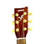 Yamaha F335 Natural 6 String Acoustic Guitar With HardShell Case