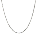 Ladies Mens Vintage Classic Estate 925 Silver Box Chain Necklace - 30 inch