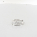 Lovely Designer Ladies 1.20 Princes Cut Diamonds CTW 18K White Gold Ring