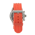 Nautica Men's N17584G NSR 08 Sporty Resin Chronograph Orange Rubber Band Watch
