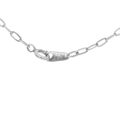 Classic Estate 925 Silver Spring Ring Clasp Cable Link Chain Necklace - 24 inch