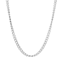 Vintage Classic Estate 925 Silver 20 Inch Spring Ring Clasp Link Chain