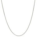 Ladies Men's Modern 14K Yellow Gold 22-inch Box Chain Necklace - New