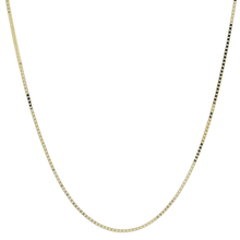 Ladies Men's Vintage Classic Estate 14K Yellow Gold Box Chain Necklace - 22 inch
