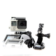 GoPro HERO 4 HWBD1 Camcorder Camera - 12MP - 1080p - HERO4 - CHDHY-401 - Silver