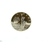 1986 USA Liberty .900 Silver Dollar Coin - Ellis Island Gateway To America