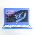 "HP Stream 11-d010wm Laptop 11.6"" - 2.16GHz - 32GB eMMC  - 2GB RAM - Win 8 - Blue"