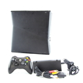 Microsoft Xbox 360 S Slim 4GB HDD Video Game Console - Model 1439 - Matte Black