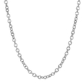 Vintage Classic Estate 925 Sterling Silver Cable Chain Necklace - 18 inch