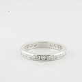 Ladies Tiffany & Co Diamond Wedding Band Platinum Eternity Ring 1.45ctw 3MM