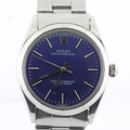 Rolex Oyster 1003 Stainless Steel Vintage Automatic Swiss Made Mens 34mm Watch