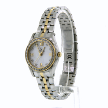 Ladies Bulova Gold-Tone Diamond Accent Stainless Steel 28mm Watch - 98R128