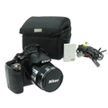 Nikon CoolPix P100 10.3MP 26x Nikkor Optical Zoom Digital Camera - Black