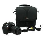Nikon D5100 Digital SLR DSLR Camera w/ Nikkor 18-55mm f/3.5-5.6G VR Lens + Case