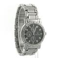 Men's Bulova Diamond Multifunction Stainless Steel Black Dial 40mm Watch - 96E04