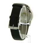 MOVADO Museum Stainless Steel Black Leather Band 40mm Watch - 07.1.14.1142