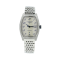 Ladies Longines Evidenza Stainless Steel White Dial Diamond Watch L2.142.0.73.6