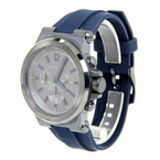 Men's Michael Kors Dylan Chronograph 48mm Watch - Blue Rubber Band - MK-8493