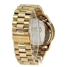 Men's Michael Kors Runway Gold-Tone Stainless Steel Chronograph 45mm Watch - MK8077