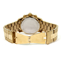 Men's Michael Kors Runway Gold-Tone Stainless Steel Chronograph 45mm Watch - MK8077