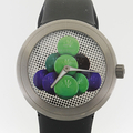 Collectable Jeff Koons Llimited Edition Ikepod Cannonballs Swiss Made Watch